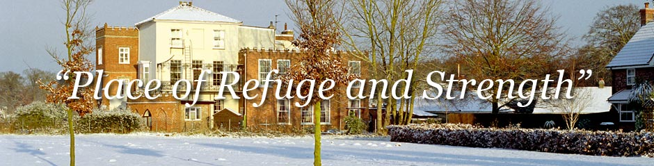 This is a Place of Refuge and Strenght