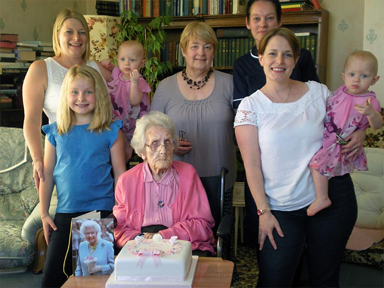 Marion Coleman 100th Birthday