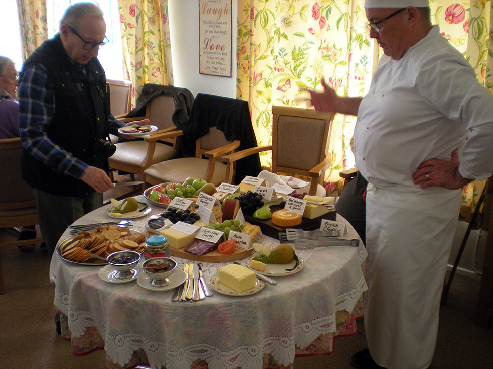 Art Exhibition with cheese tasting – April 6th