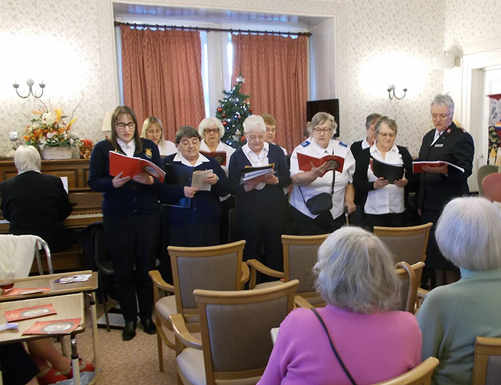 Salvation Army Singers
